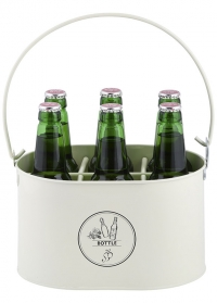 Контейнер-переноска для 6 пивных бутылок C2104 Esschert Design фото