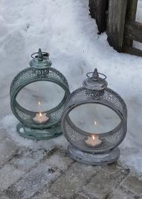 Стильные свечные фонари в винтажном стиле WL61 Esschert Design фото.jpg