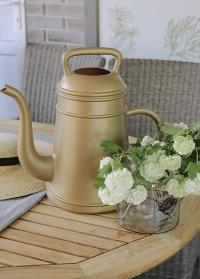 Лейка-кофейник 12 литров для полива цветов Lungo Gold Xala фото.jpg