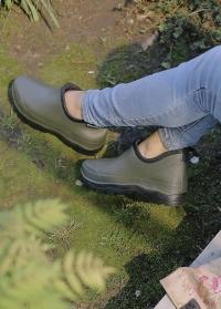 Женские ботинки из эва для дачи и сада Хаки Oregon Blackfox фото