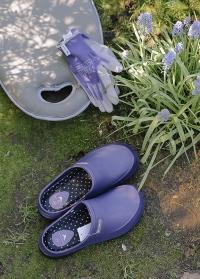 Летние женские сабо из эва Mellow Violet от французского бренда AJS-Blackfox фото
