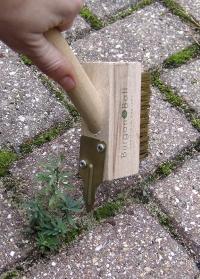 Садовая щетка для удаления сорняков Burgon Ball фото.jpg