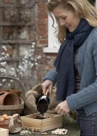 Совок садовый посадочный Sophie Conran Burgon Ball фото.jpg