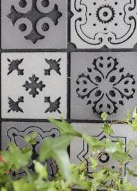 Придверный коврик из резиновой крошки Mosaic RB178 Esschert Design картинка