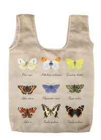 Сумка-шопер складная с принтом бабочки Butterfly Collection TP312 Esschert Design фото