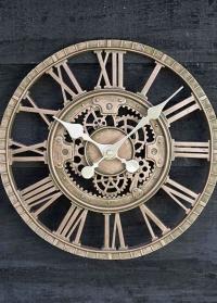 Уличные настенные часы скелетоны Newby Bronze Smart Garden фото