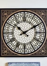Уличные часы для загородного дома в английском стиле Little Ben Smart Garden фото