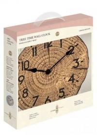 Уличные часы для дачи спил дерева Tree Time Smart Garden фото