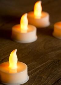 Светодиодные чайные свечи – набор 6 шт. Flameless LED T-Light фото