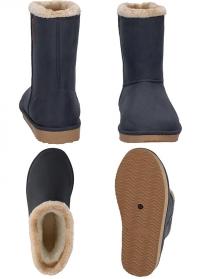 Ботинки угги зимние резиновые Cheyenne Anthracite AJS Blackfox - французская обувь фото.jpg