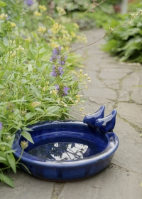 Купальня для птиц керамическая для сада и дачи FB421 Esschert Design фото