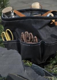 Джинсовая сумка для флориста с карманами для инструментов Denim GT161 Esschert Design фото