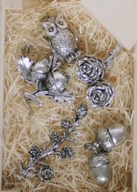 Елочные украшения в скандинавском стиле SERAFINA Lene Bjerre (Дания) фото