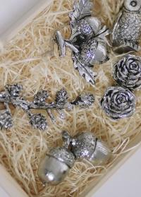 Новогодний декор в скандинавском стиле - желуди Serafina от Lene Bjerre фото