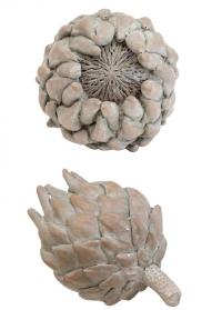 Декор интерьерный терракотовый Артишок 11 см. Serafina Flower от Lene Bjerre фото