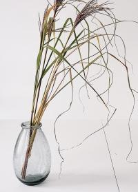 Ваза для цветов стеклянная в скандинавском стиле Hedrai от Lene Bjerre фото
