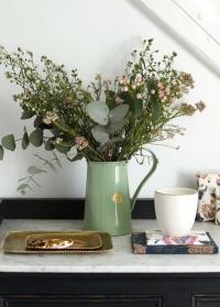 Английский кувшин-ваза металл для цветов Classic Sage 9222-SAG от Haws фото