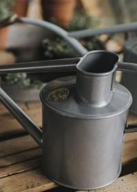 Лейка для цветов металлическая 1 л. Rowley Ripple Titanium от Haws фото