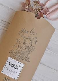 Подарочная коробка-конверт из крафта Consta Garden картинка
