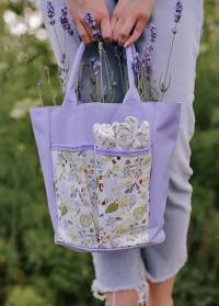 Сумка для инструментов в подарок флористу в подарочной упаковке Consta Garden фото