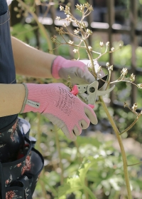 Эластичные перчатки для работы с растениями в подарок флористу от Consta Garden фото