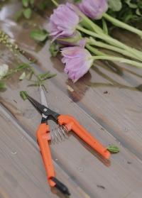Ножницы флористические для цветов ультралегкие TP-530 Chikamasa фото