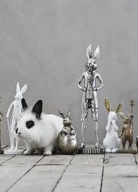 Пасхальный декор Кролик в скорлупе Semina Rabbit Lene Bjerre фото