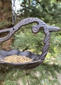 Кормушка для птиц чугунная фигурка Птицы FB445 Esschert Design фото