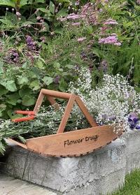 Корзина садовая деревянная для сбора цветов Esschert Design NG80 фото