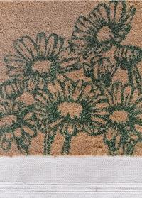 Кокосовый коврик для входа Flowers Esschert Design RB216 фото