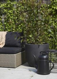 Дизайнерская лейка для цветов 8 литров в форме кофейника Lungo Black от Xala фото