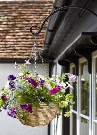 Кронштейн настенный для уличного цветочного кашпо 40 см Round Smart Garden картинка