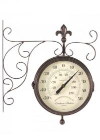 Часы на кронштейне уличные York Station Smart Garden фото