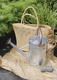 Оцинкованная садовая лейка для цветов 4.5 л. Galvanised Steel Smart Garden фото
