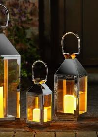 Декоративные подсвечники-фонари металлические Stokholm by Outside In от Smart Garden фото