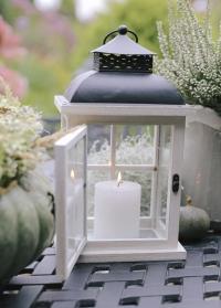 Подсвечник-фонарь из дерева для свечи Minster by Outside In Smart Garden фото