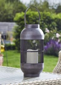 Декоративный садовый фонарь на солнечных батарейках Rivoli Smart Garden картинка