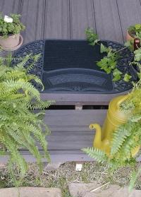 Коврик придверный резиновый грязезащитный Welcome RB238 Esschert Design фото