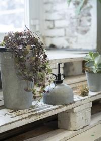 Коллекция садового инвентаря из оцинкованного металла Esschert Design фото