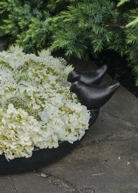 Купальня-кормушка для птиц керамическая Black FB487 Esschert Design фото