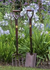 Вилы садовые для копки земли National Trust от Burgon & Ball (Великобритания) фото