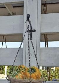 Декоративный настенный кронштейн 20 см для загородного дома и дачи Forge Square Smart Garden фото