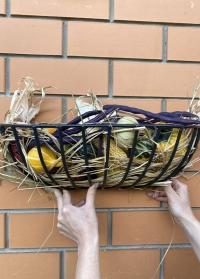 Металлическая корзина на стену BPH132 Esschert Design фото