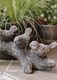Садовая керамическая фигурка Птички AC169 Esschert Design фото