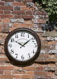 Большие уличные часы диаметр 58 см Cheltenham by Outside In Smart Garden фото