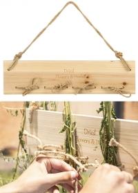 Настенная сушилка для трав и цветов подвесная FH002 Esschert Design фото