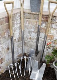 Вилы садово-огородные для копки земли Burgon & Ball фото