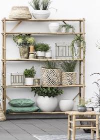 Керамический горшок для растений в скандинавском стиле Helsia 15,5 см Lene Bjerre фото