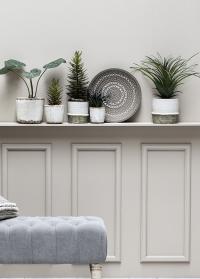 Керамическое кашпо-горшок для комнатных растений Helsia Lene Bjerre фото