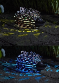 Садовая фигурка ежик на солнечной батарее - декор для дачного участка от Smart Garden фото